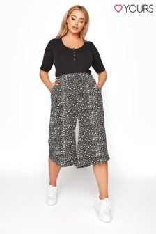 Yours Print Culotte