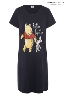 Long Tall Sally Winnie Piglet Dipped Back Nightdress