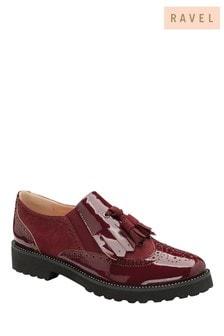 Ravel Bordo Patent Slip-On Shoes