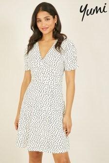 Yumi Spotted 'Harper' Tea Dress