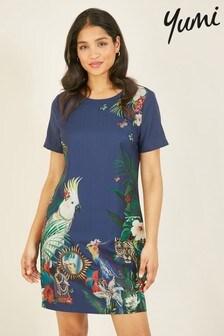 Yumi Cockatoo Tunic Dress