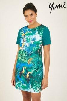 Yumi Jungle Print 'Elodie' Tunic Dress