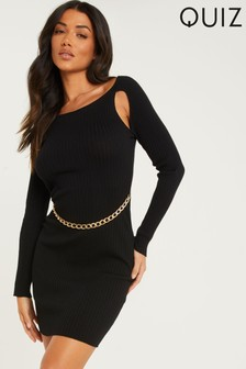 Quiz Bodycon Knitted Dress