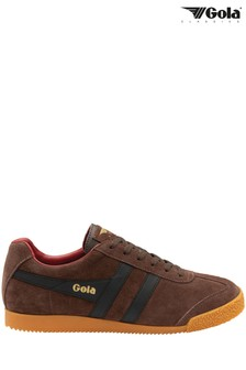 Gola Harrier Men's Suede Lace-Up Trainers