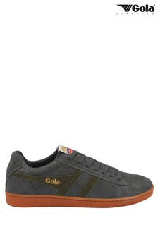 Gola Equipe Men's Suede Lace-Up Trainers