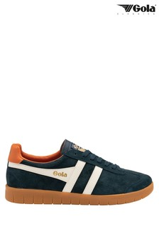 Gola Huricane Suede Men's Suede Lace-Up Trainers