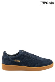 Gola Contact Suede Men's Suede Lace-Up Trainers