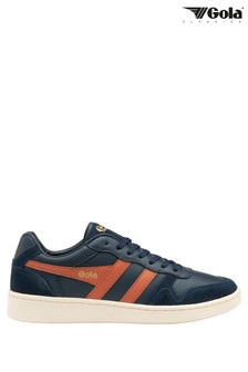 Gola Rebound Men's Leather Lace-Up Trainers