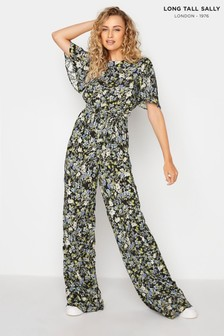 Long Tall Sally Ditsy Print Jumpsuit