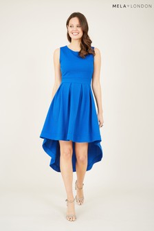 Mela Textured High Lowe 'Skye' Dress
