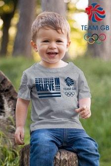 Team GB Believe In Kid's T-Shirt