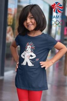 Team GB Lion Mascot Kid's T-Shirt