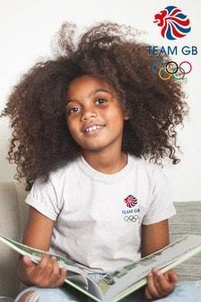 Team GB Olympic Small Colour Logo Kid's T-Shirt