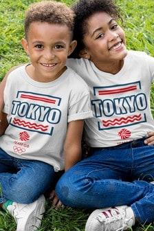Team GB Tokyo Block Print Kid's T-Shirt