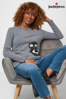 Joe Browns Wonderfully Wise Owl Sweater