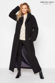 Long Tall Sally Maxi Teddy Coat