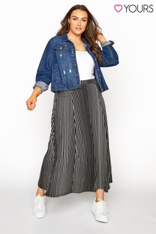 Yours All Over Print Skirt With Pocket