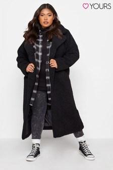 Yours Maxi Teddy Coat