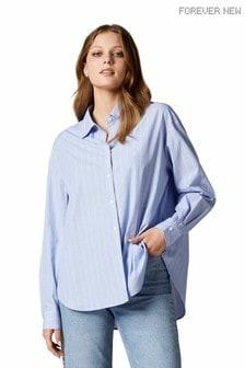 Forever New Denver Oversized Cotton Shirt