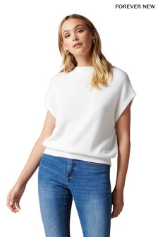 Forever New Tessa Grown On Neck Knit Top