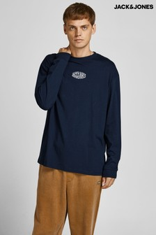 Jack & Jones Long Sleeved Logo T-Shirt