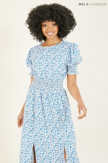 Mela Ditsy Floral 'Dulcie' Midi Dress