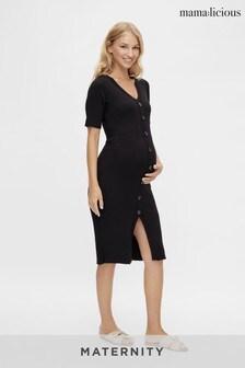 Mamalicious Maternity Nursing Midi Dress