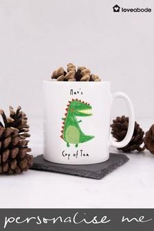 Personalised Christmas Mug by Loveabode