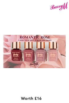 Barry M Romantic Rose Tinted Gift Set (Worth £16)