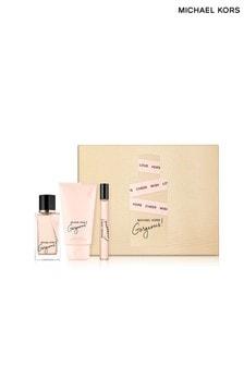 Michael Kors Gorgeous! Eau de Parfum 50ml, Body Lotion 75ml and Purse Spray 10ml Set