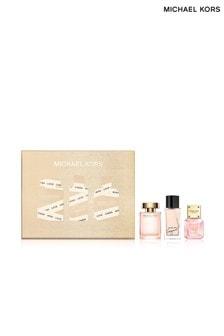 Michael Kors Gorgeous! Eau de Parfum 5ml, Wonderlust 4ml, Sparkling Blush 40ml Set