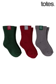 Just Sheepskin Kids Cotton Terry Socks
