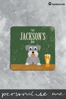Personalised Dog Costers by Loveabode