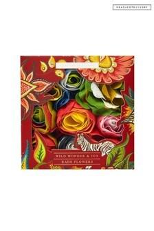 Heathcote & Ivory Wild Wonder & Joy Bath Flowers, 90g