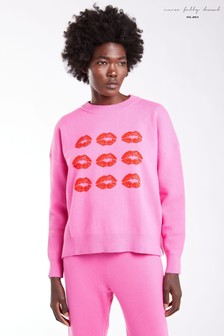 Never Fully Dressed Lips Knitted Jumper
