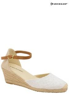 Dunlop Ladies Wedge Ankle Strap Sandals