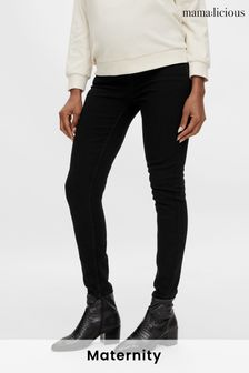 Mamalicious Maternity Skinny Jeans With Bump Support