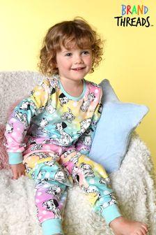 Brand Threads Disney 101 Dalmations  Fleece Pyjamas