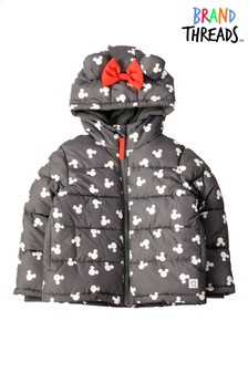 Brand Threads Girls Disney Minnie Mouse Coat