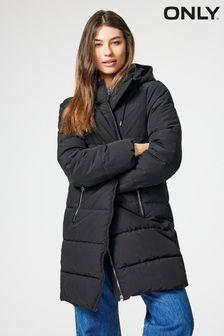 Only Padded Longline Coat