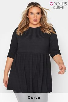 Yours Limited Smock Rib Top