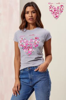 Wear it with Love Women's Fitted T Shirt