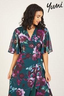 Yumi Floral 'Marnie' Wrap Dress