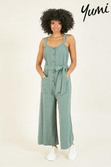 Yumi Button Through 'Ayleena' Jumpsuit
