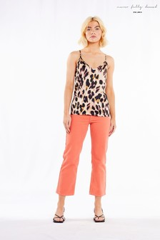 Never Fully Dressed Leopard Cami Top