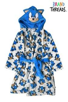 Brand Threads Boys Sonic Robe with Hood