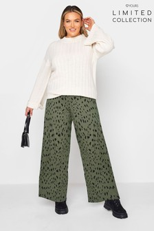 Yours Limited Screen Printed Trouser