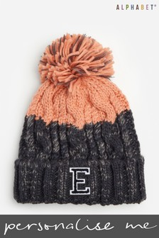 Personalised Adults Monogrammed Beanie  by Alphabet