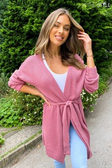 In The Style Stacey Solomon Wrap Belted Cardigan