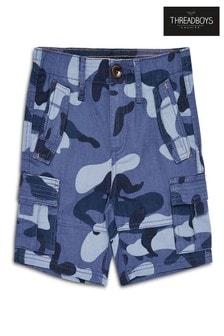 Threadboys Cotton Cargo Shorts